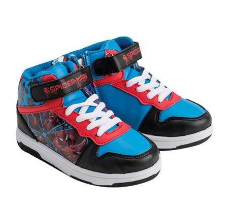 נעלי ספורט גבוהות לילדים במבחר דגמים אהובים לבחירה דיסני