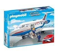 פליימוביל מטוס נוסעים + דמות פליימוביל מתנה!