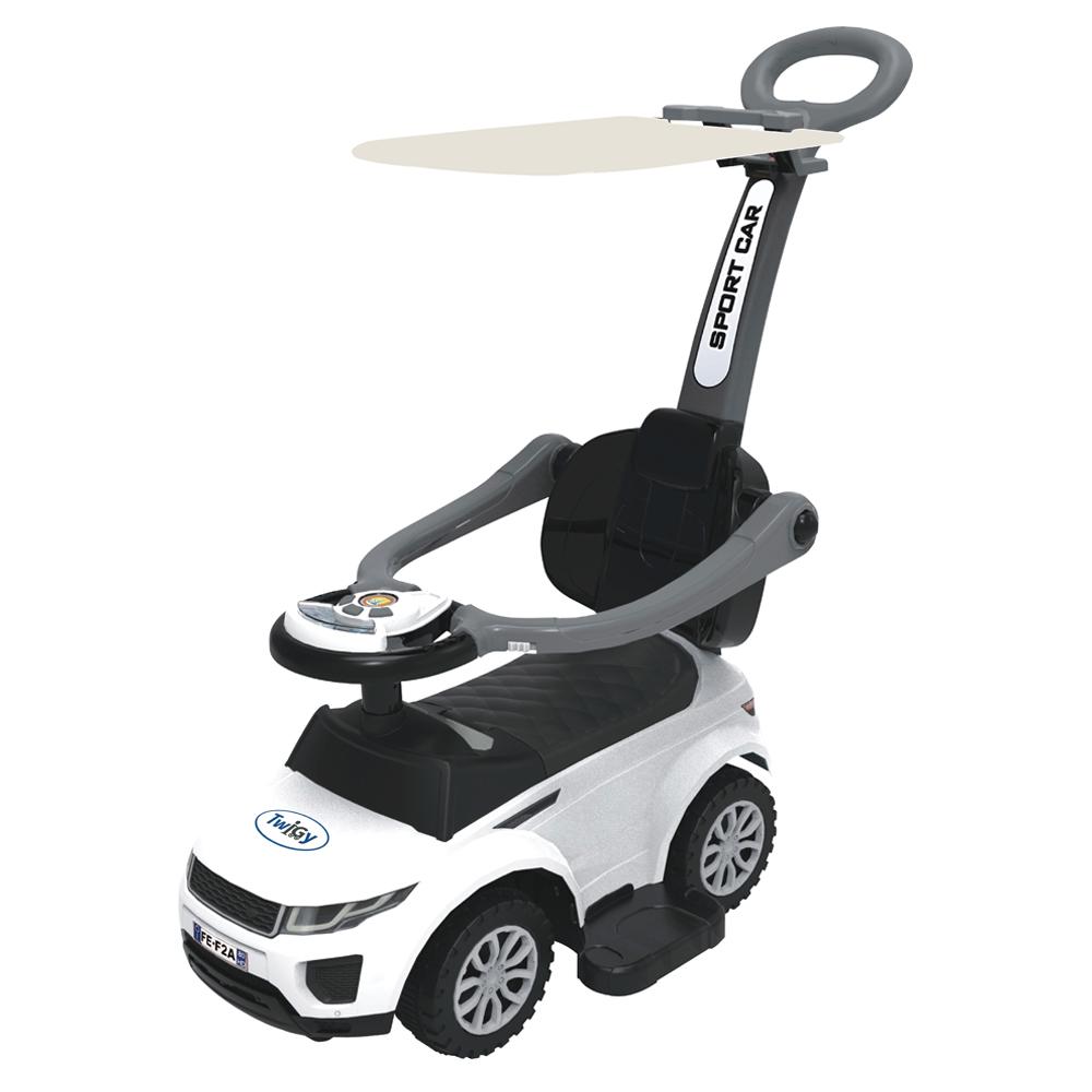 בימבה ג'יפ לתינוק הכוללת גגון להגנה מהשמש בעלת שלוש אפשרויות שימוש My First Drive - תמונה 2