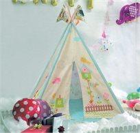 אוהל טיפי לילדים - בית עם גינה