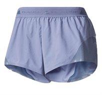 מכנסי ריצה קצרים Stella McCartney לנשים בצבע סגול