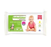30 חבילות מגבוני בייביסיטר בבישום עדין  Babysitter
