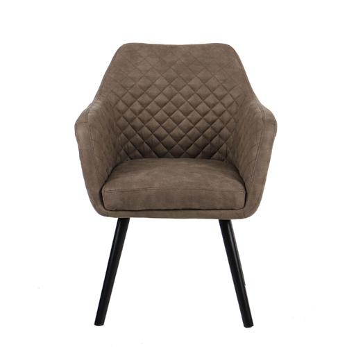 כורסא מעוצבת עם רגלי עץ מלא דגם יוסטון HOME DECOR - תמונה 2