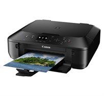 מדפסת משולבת PIXMA MG5550 בצבע שחור הכוללת WiFi והדפסה של תמונות מבית CANON