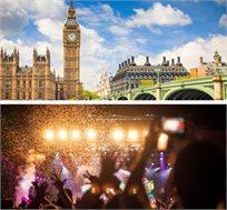 """הופעה חיה של ברונו מארס בלונדון כולל טיסות ו-4 לילות במלון ע""""ב א.בוקר רק בכ-£599* לאדם!"""
