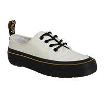 נעלי נשים Dr. Martens דגם ג'סי קנבס בצבע לבן