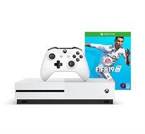 קונסולת Microsoft Xbox One S בנפח 1TB +משחק FIFA 19