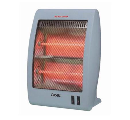 תנור חימום ספירלות GRAETZ 1000W דגם GR-1005