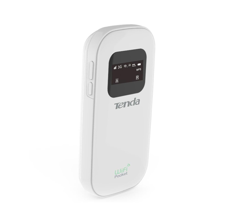 עדכון מעודכן ראוטר אלחוטי נייד משולב מודם סלולארי SIM 3G מובנה דגם 3G185 מבית TENDA EZ-94