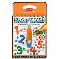 חוברת טוש מים מספרים