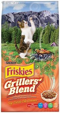 מזון לחתול בוגר פריסקיס מעדני השף 14.4 ק''ג friskies
