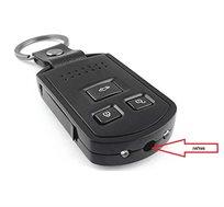 מצלמה נסתרת בשלט רכב + מיקרופון– איכות FULL HD 1080