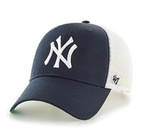 כובע NY YANKEES - נייבי רשת לבנה