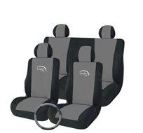 סט כיסויי מושב איכותי לרכב הכולל 9 חלקים