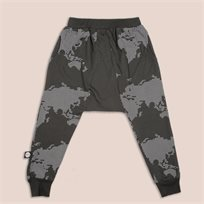 MAYAYA מכנסי משולש (6-24 חודשים) גופרית הדפס מפה