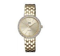שעון יד לאישה Q&Q - זהב