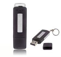 טייפ מנהלים זעיר עם מיקרופון איכותי ורגיש, הכולל נפח 4GB, חיבור USB והפעלה בלחיצת כפתור