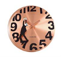 שעון קיר בצבע נחושת דגם תלוי בזמן