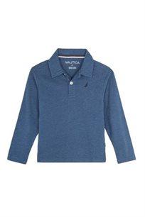 Nutica / נאוטיקה חולצת פולו מעבר כחולה (16-4 שנים)