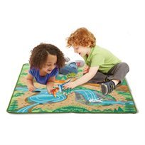שטיח פרהיסטורי דינוזאורים - Melissa & Doug