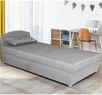 מיטת יחיד עם ראש מתכוונן וארגז מצעים דגם MICHELLE