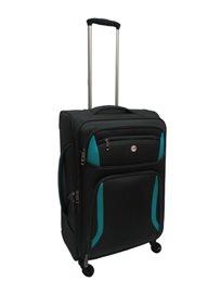 מזוודה 28 אינץ XL קלה מאד 4 גלגלים בצבעים מדהימים SWISS TRAVEL CLUB