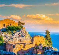 טוס וסע לסיציליה ל-3 או 6 לילות כולל טיסות לקטניה ורכב לכל התקופה החל מכ-€299*