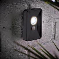 מנורת שביל עם גלאי תנועה הנדלקת עם זיהוי תנועה בעלת 3 מצבים