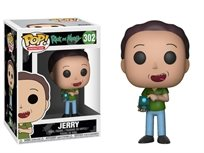 Funko Pop - Jerry (Rick And Morty)  302 בובת פופ ריק ומורטי ג'רי