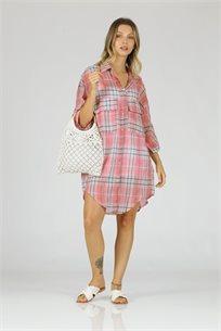 שמלה פייג - אדום