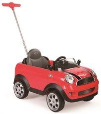 בימבה דחיפה בדמות Mini Cooper - אדום