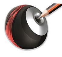 מחדד עפרונות מטאלי עם מיכל לאיסוף MAPED