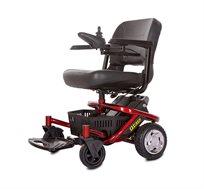 כסא גלגלים ממונע וחזק, בעל מושב מסתובב דגם 0942 Quality life tech