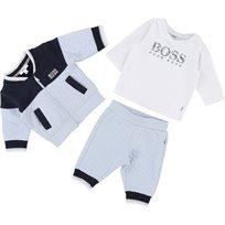 BOSS בוס חליפה (1 חודשים) - תכלת שילוב כחול
