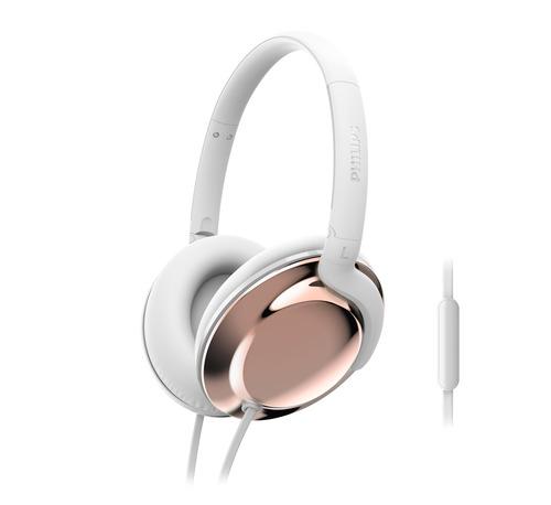 אוזניות קשת Philips דגם Shl4805rg צבע לבן