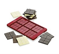 תבנית סיליקון להכנת 6 חפיסות שוקולד קטנות - LURCH