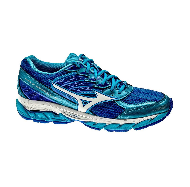 נעלי ריצה לנשים MIZUNO WMN'S RUNNING SHOES WAVE PARADOX 3 W J1GD161201 - כחול לבן