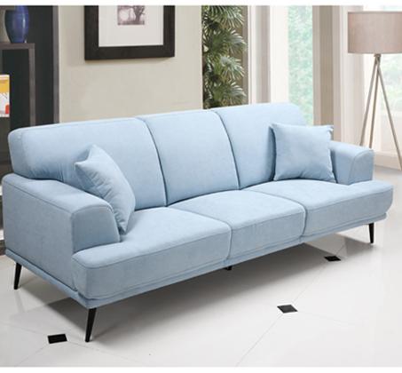 ספה תלת מושבית בעיצוב מודרני עם ריפוד דוחה נוזלים דגם סטנלי HOME DECOR - תמונה 3
