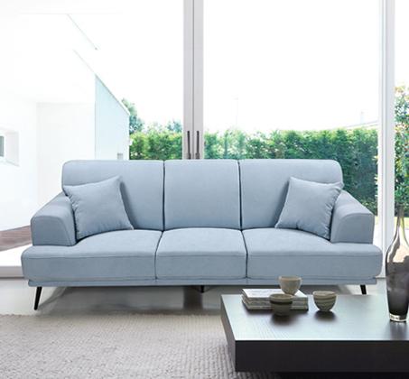 ספה תלת מושבית בעיצוב מודרני עם ריפוד דוחה נוזלים דגם סטנלי HOME DECOR - תמונה 2