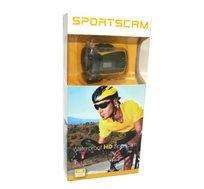 מצלמת אקסטרים SPORTSCAM 5MP קטנה וקומפקטית מאפשרת צילום סטילס ווידאו HD 720P