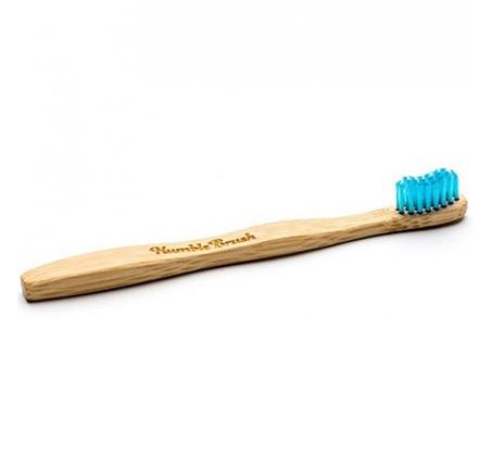 מברשת שיניים לילדים ברכות ULTRA SOFT עשויה במבוק כחול