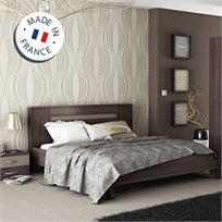 מיטה זוגית עם 2 שידות תואמות תוצרת צרפת מבית HOME DECOR