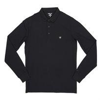 REPLAY חולצה// L/S Polo BLACK