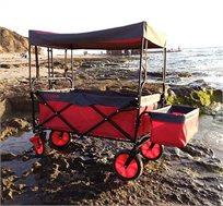 עגלה מתקפלת הכוללת גגון, תא אחסון, במגוון צבעים לבחירה דגם FULL SET
