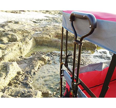 עגלה מתקפלת הכוללת גגון, תא אחסון, במגוון צבעים לבחירה דגם FULL SET - תמונה 4