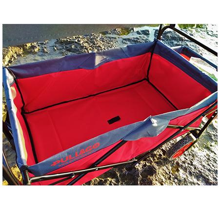 עגלה מתקפלת הכוללת גגון, תא אחסון, במגוון צבעים לבחירה דגם FULL SET - תמונה 2