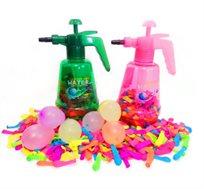 חג המים! ערכת בלוני מים הכוללת בלונים ומשאבת מים ניידת החל מ-₪49!