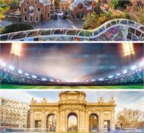 סופר קלאסיקו כפול! 7 לילות בברצלונה ומדריד+כרטיסים ל-2 משחקים החל מכ-€1334*