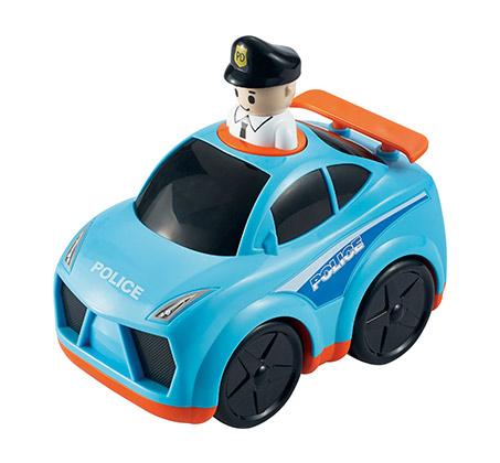 """""""לחץ וסע רכב משטרה"""" - מעודד תנועה ופעילות אצל הילד"""