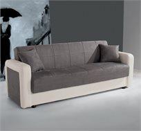 ספה נפתחת למיטה רחבה עם ארגז מצעים דגם קליק